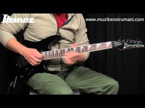 Ibanez RG370DXZ-BK Elektro Gitar
