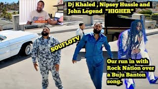 "Dj Khaled Nipsey Hussle John Legend ""Higher"" and Buju Banton copyrights thumbnail"