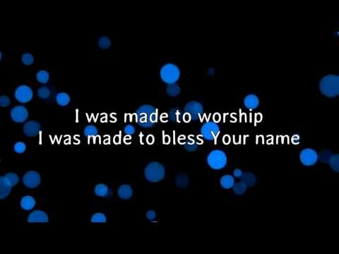 MADE TO WORSHIP by Planetshakers (instrumental with lyrics)