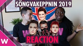 "Hatari ""Hatrið mun sigra"" REACTION | Iceland Eurovision 2019 selection"