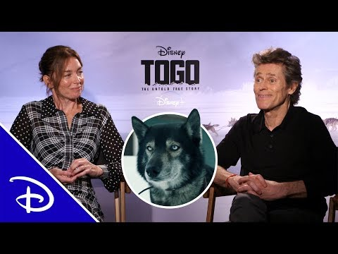 Willem Dafoe and Julianne Nicholson Answer Questions About Togo | Disney