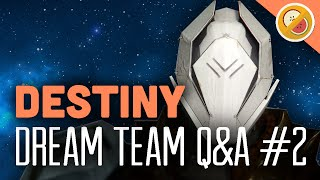 The Dream Team Q&A #2 : Destiny (The Taken King) Funny Gaming Moments