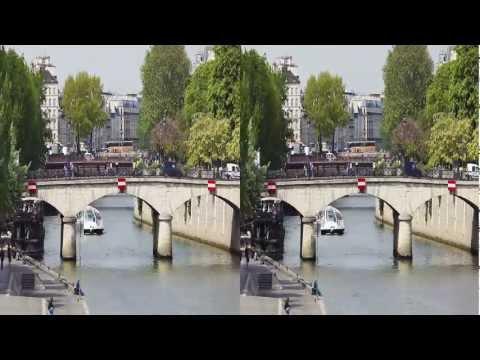 April in France - 3D stereo timelapses