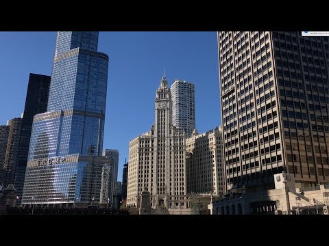 Chicago Lake And River Tour (2018) HD