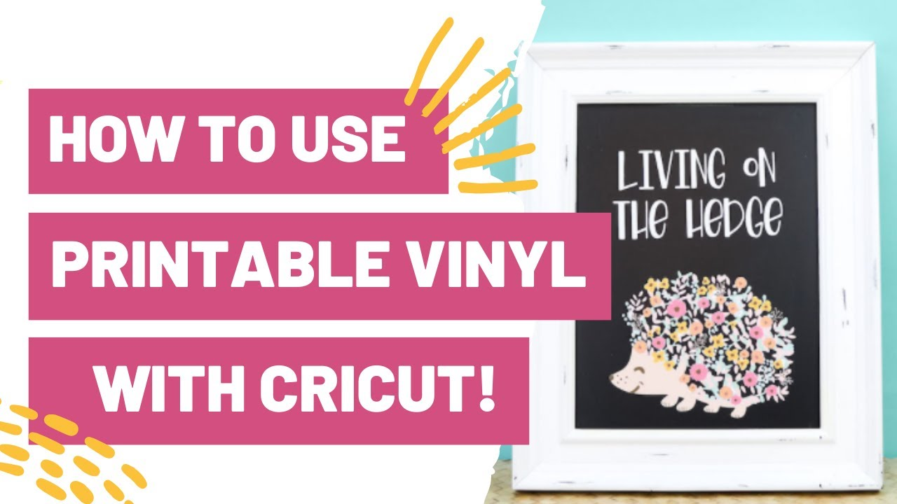 graphic relating to How to Use Printable Vinyl identify CRAFT WITH ME! How In the direction of Seek the services of Printable Vinyl With The Cricut!