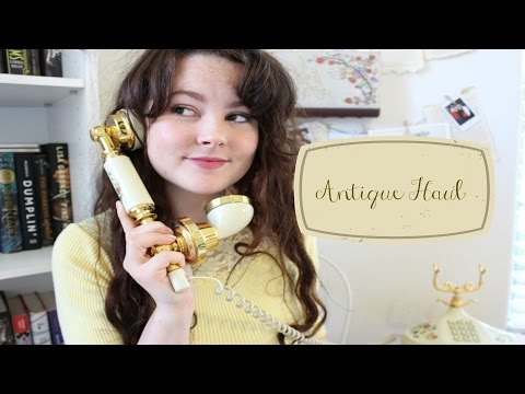 Antique Haul! // Clothing & Decor!