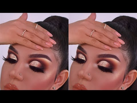 """u Dnt hAvE h0odEd eYez"" HOODED EYE CUT-CREASE TUTORIAL"