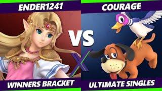 S@X 411 Winners Bracket - ender1241 (Zelda) Vs. Courage (Duck Hunt) Smash Ultimate - SSBU