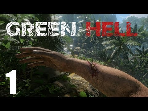 Survival in the Amazon Rainforest - Green Hell Gameplay - Part 1