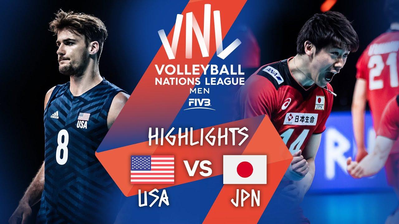 Download USA vs. JPN - Highlights Week 5 | Men's VNL 2021