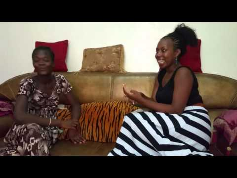American women in Senegal learning to speak Wolof