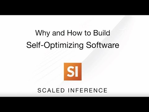 Why and How to Build Self Optimizing Software with AI