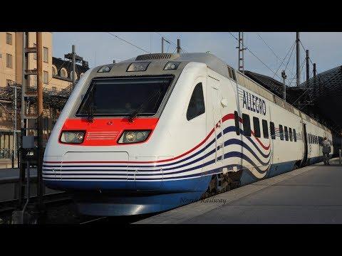 [Pendolino] Allegro High Speed Train Sm6 For St. Petersburg | Helsinki