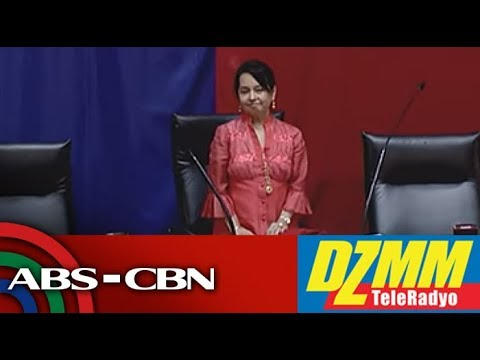 DZMM TeleRadyo: Arroyo takes oath as new Speaker in House co