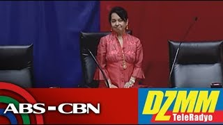 DZMM TeleRadyo: Arroyo takes oath as new Speaker in House coup