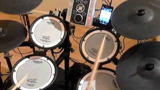 a rush of blood to the head coldplay roland td9 drum cover