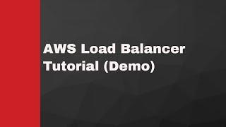 aws load balancer demo