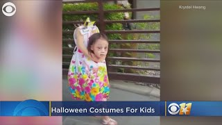 Kids Show Off Their Awesome Halloween Costumes