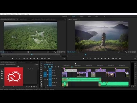 New Task-Oriented Workspaces - Adobe Premiere Pro (2015) | Adobe Creative Cloud