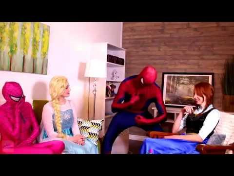 Spiderman & Frozen Elsa vs Doctor! Spiderman is si