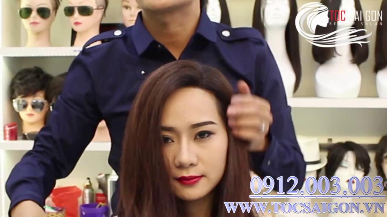 Tóc giả nữ được làm từ tóc thật 100% tại Tóc Sài Gòn