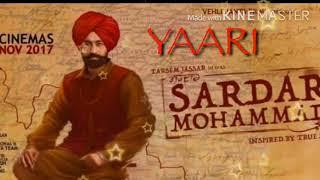 Yaari (Sardar mohammad) by Tarsem jassar    Full Punjabi Song 2017