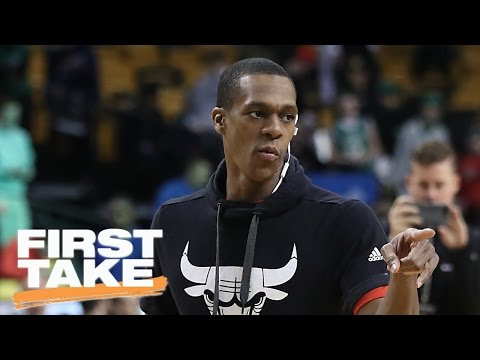 Would Bulls Have Swept Celtics If Not For Rajon Rondo's Injury?   First Take   May 10, 2017