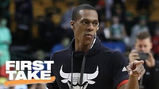 Would Bulls Have Swept Celtics If Not For Rajon Rondo's Injury? | First Take | May 10, 2017