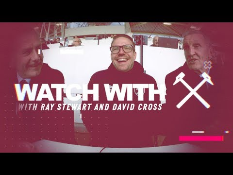 WATCH WITH | DAVID CROSS TROLLS RAY STEWART DURING WEST HAM'S 3-2 WIN OVER CRYSTAL PALACE