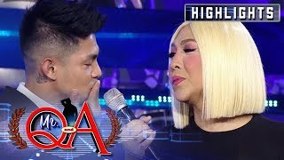 """Kiss na lang para effective"" Ion to Vice Ganda"