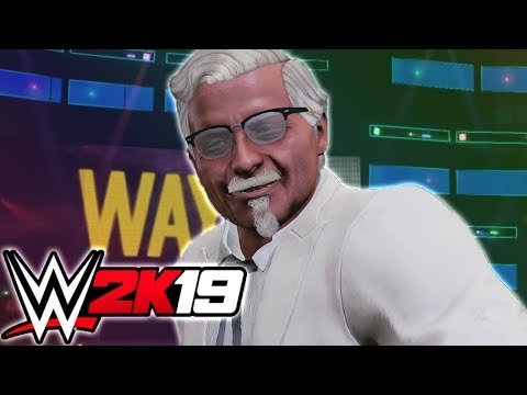 FINGER LICKIN' GOOD MATCH!! - NEW FUNNY WWE 2K19 GAME (ONLINE MULTIPLAYER)