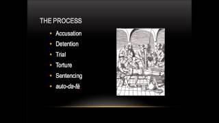 Spanish Inquisition lecture