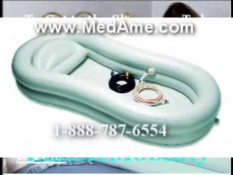 Inflatable Bathtub For The Disabled And Elderly