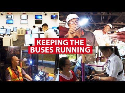 Keeping The Buses Running in Singapore | On The Red Dot | CNA Insider