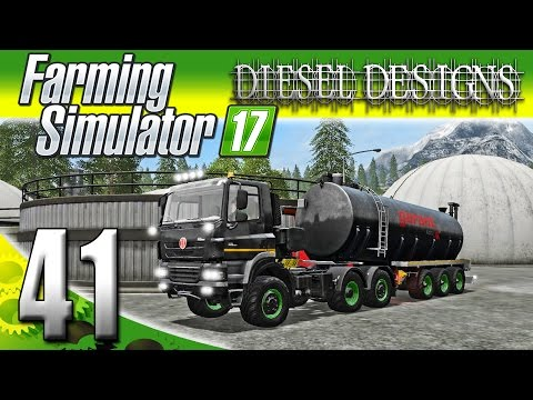 Farming Simulator 2017 Gameplay :EP41: Cash for Poop! (PC HD Goldcrest Valley)