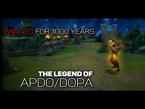 Meet The League of Legends Rank 1 Player Who Is BANNED For 1000 Years - Apdo/Dopa Documentary