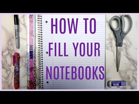 How to Fill Your Empty Notebooks! Creative Journal Ideas (part 2)