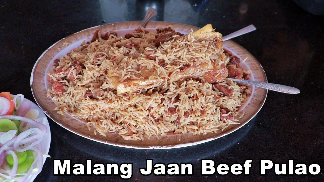 Malang Jaan Bannu Beef Pulao Tarnol Youtube