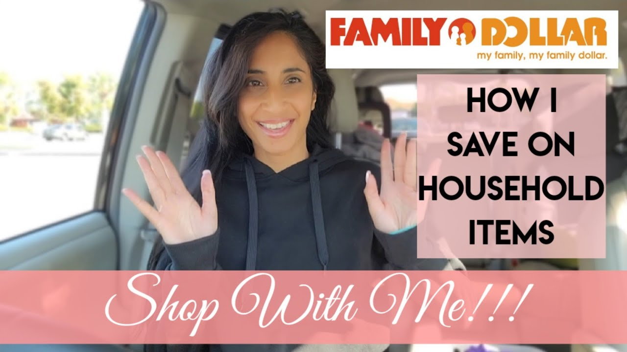 How I save on Home Essentials | Shop with me at Family Dollar!!! 5/1/2021