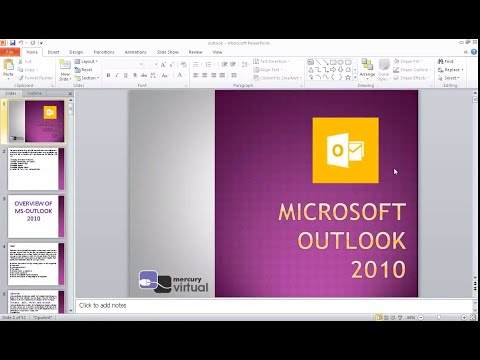Microsoft Outlook 2010 Introduction