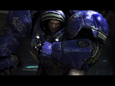 Bar Fight - StarCraft - Marine Strength
