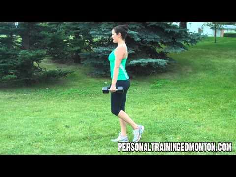 Edmonton Personal Trainer - Calorie Burner #6 of 10  Single Leg Deadlift and Row