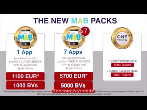 M.A.B. Presentation (ENG) - Why is it important, and how to get started! - OneCoin
