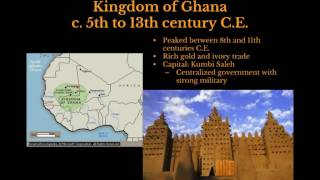 AP World History: Period 3: Post Classical Africa Part II