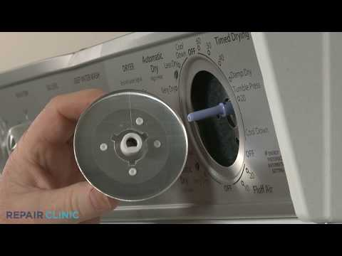 Dryer Timer Knob Replacement - Electric Washer/Dryer Combo (Model #WET4027EW0)