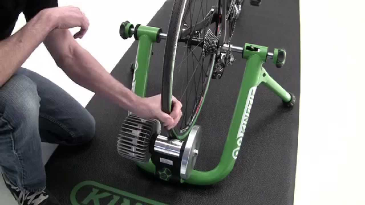 How To Set Up A Kinetic Indoor Bicycle Trainer And Mount A