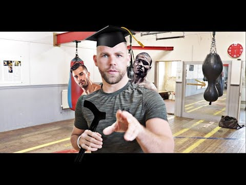 BILLY JOE SAUNDERS OFFERS TO TEACH CHRIS EUBANK & DAVID LEMIEUX BASIC BOXING TECHNIQUE GYPSY STYLE