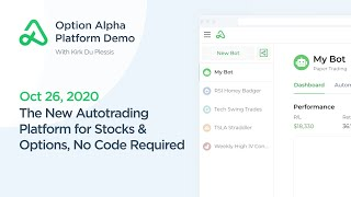 Option Alpha Autotrading LIVE Demo Replay