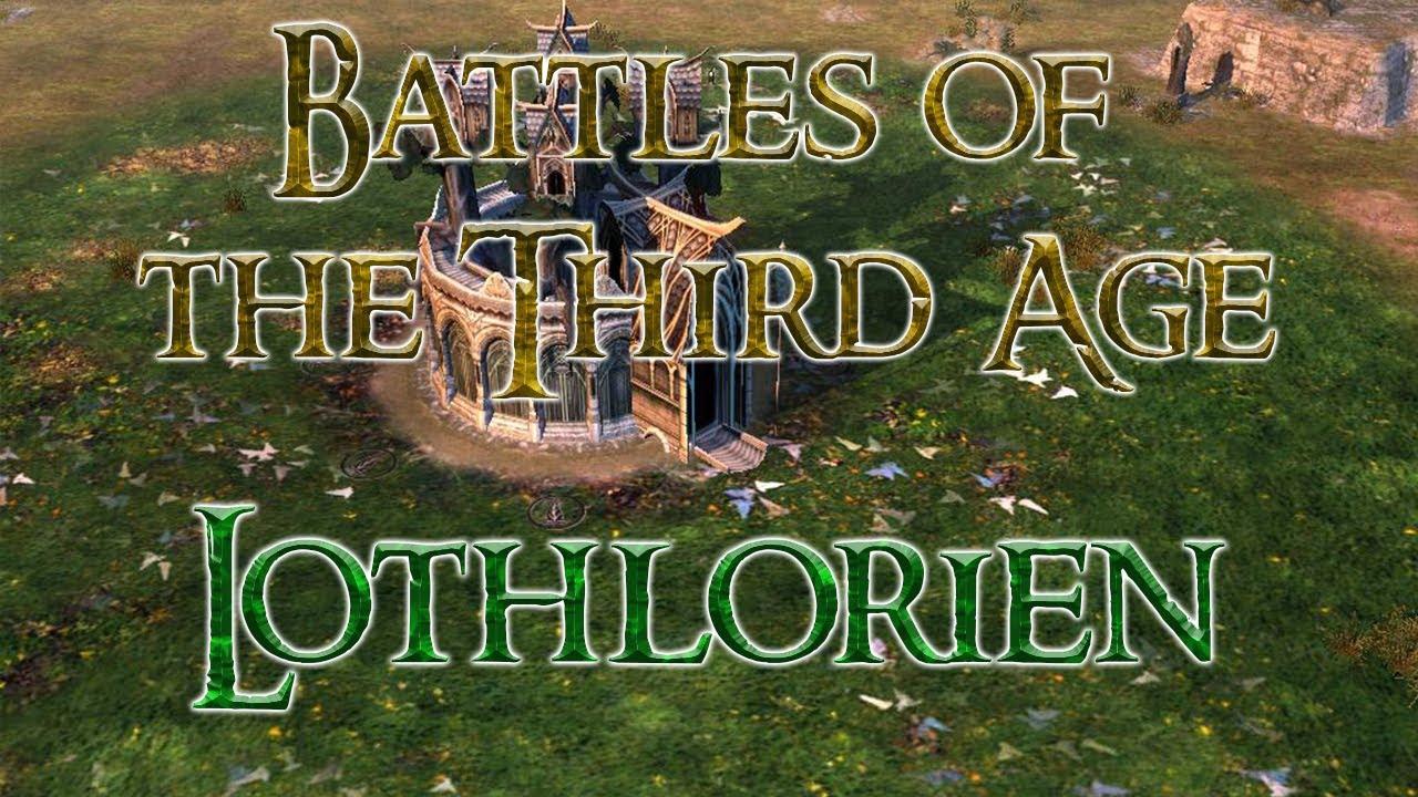 Battles of the Third Age 4.0 Alpha: Lothlorien (Schlacht um Mittelerde 2 AdH BotTA Mod)