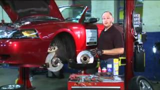 Car Corner: Basic Brake Job